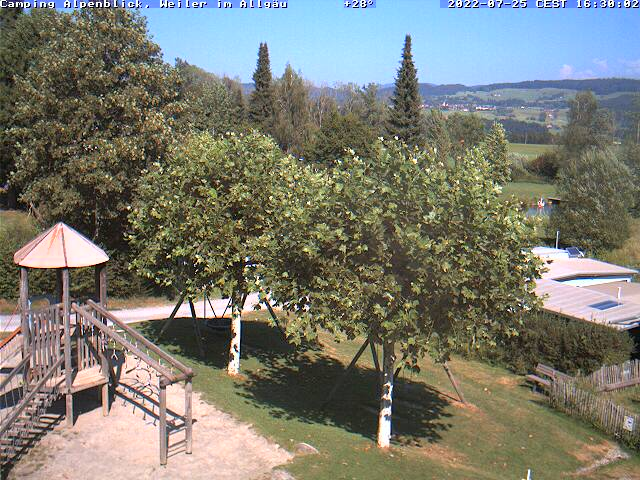 Webcam Camping Alpenblick